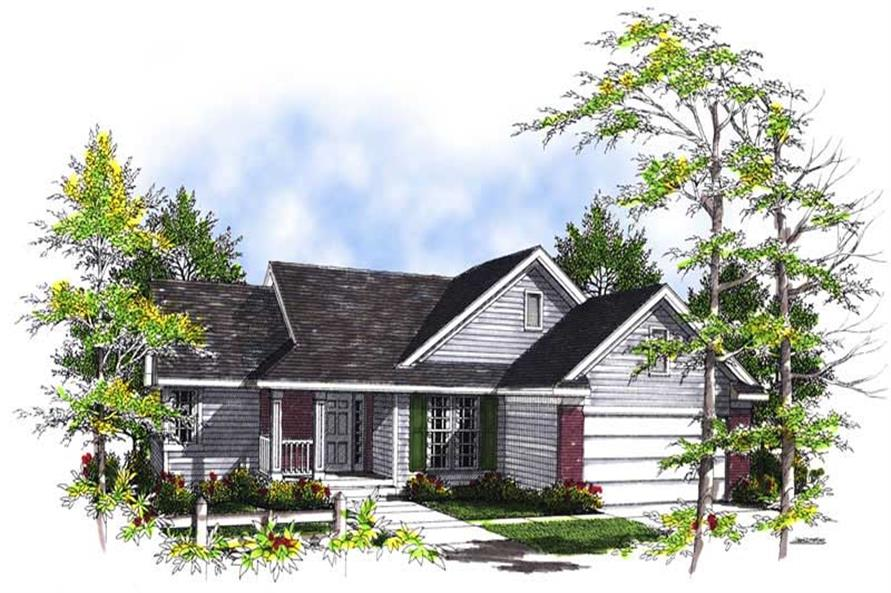 Main image for house plan # 13461