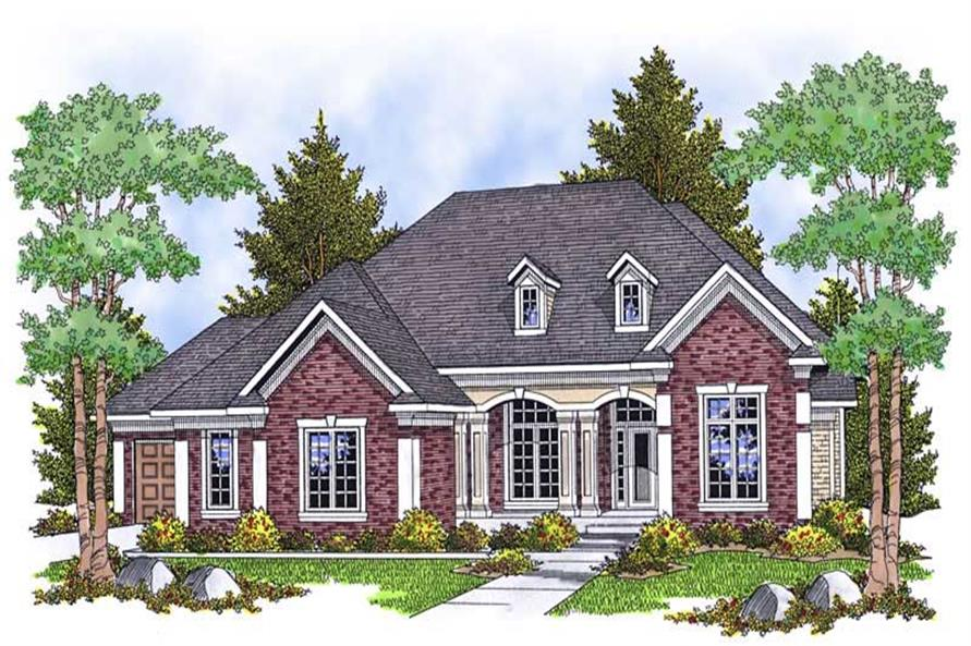 Main image for house plan # 13895