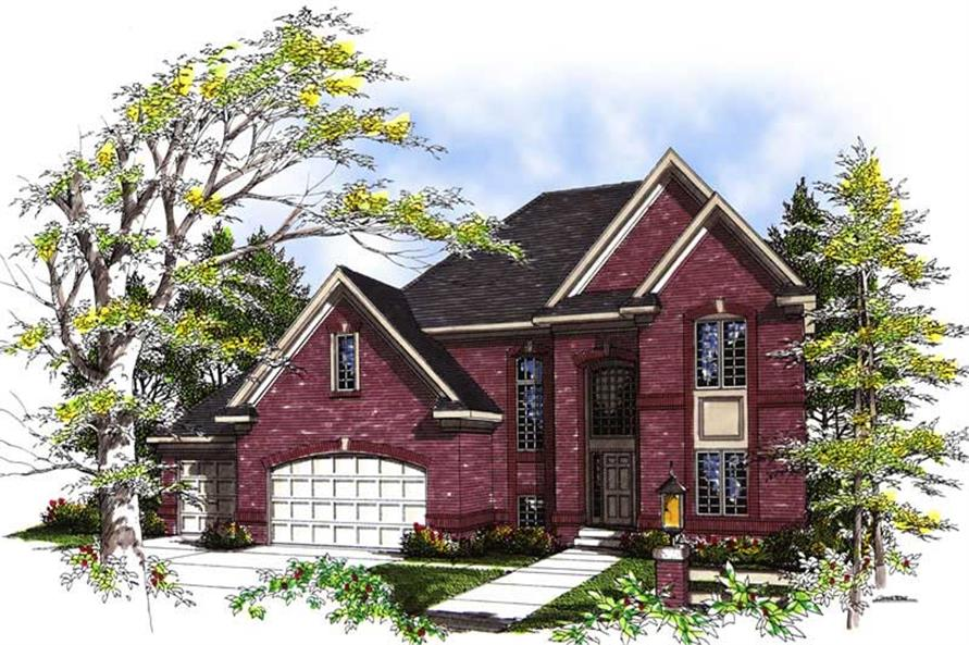 Main image for house plan # 13464
