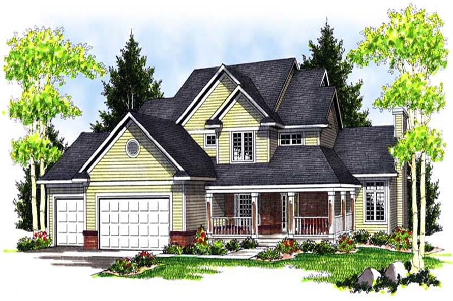 Main image for house plan # 13962