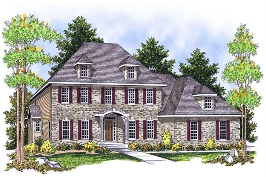 Main image for house plan # 13920