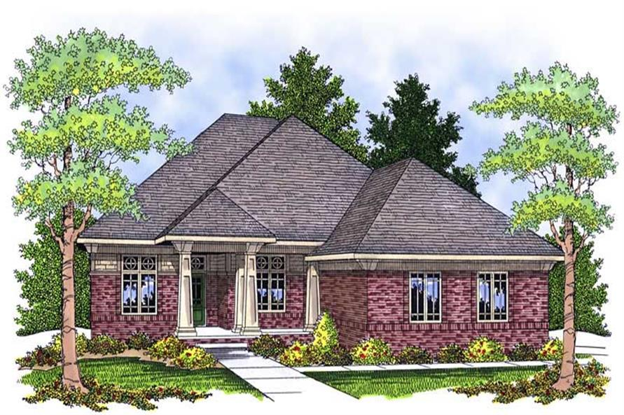 Main image for house plan # 13909