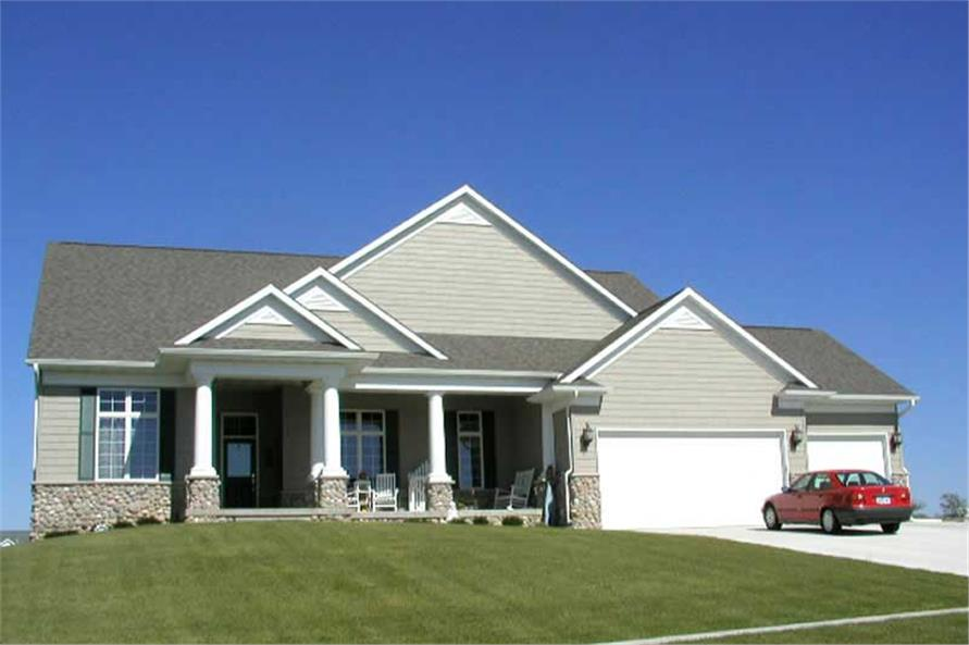 Main image for house plan # 13911