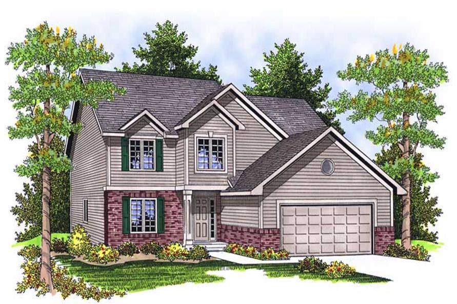 Main image for house plan # 13919