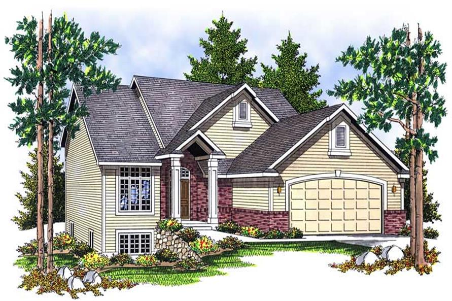 Main image for house plan # 13923