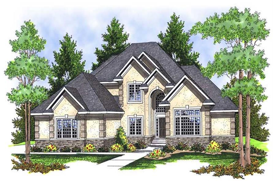 Main image for house plan # 13925