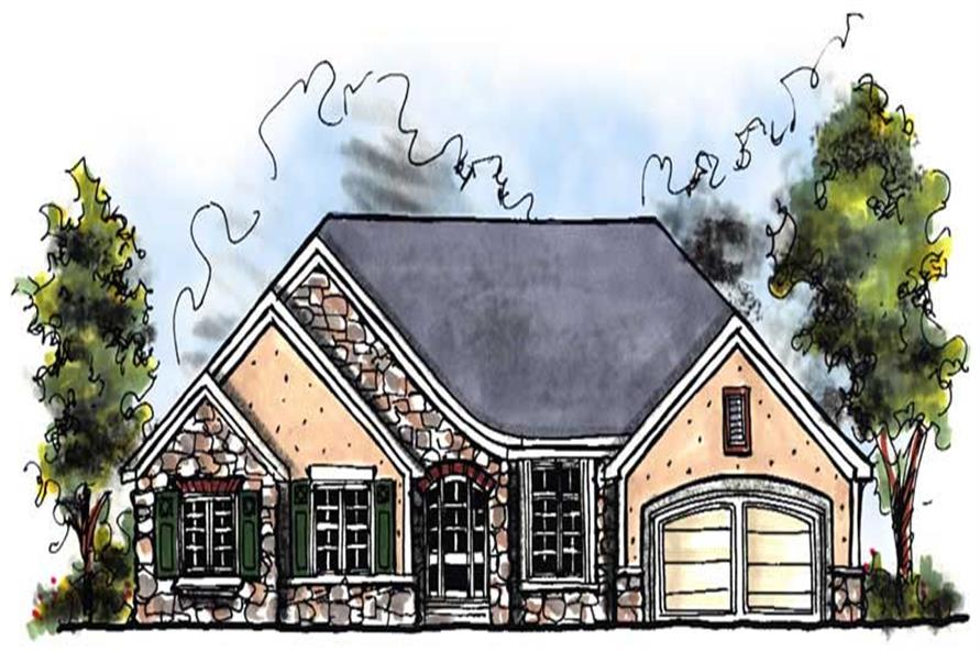 Main image for house plan # 13931