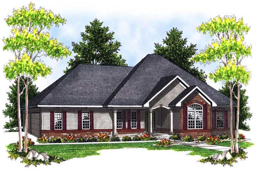 Main image for house plan # 13938