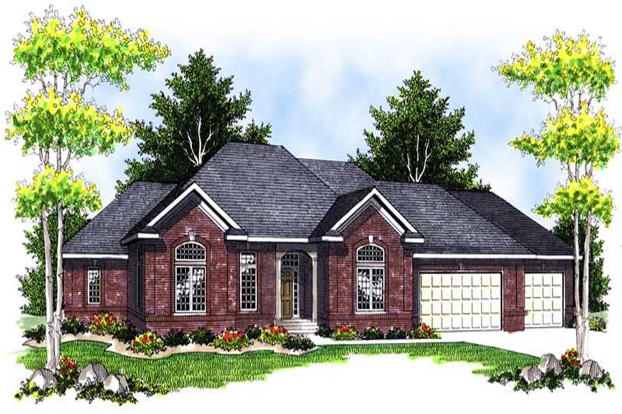 Main image for house plan # 13946