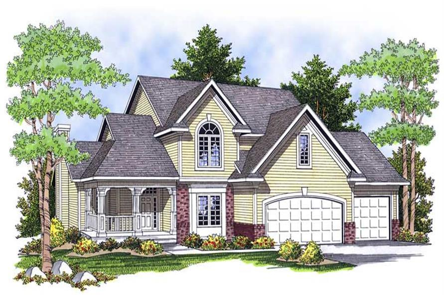 Main image for house plan # 13918