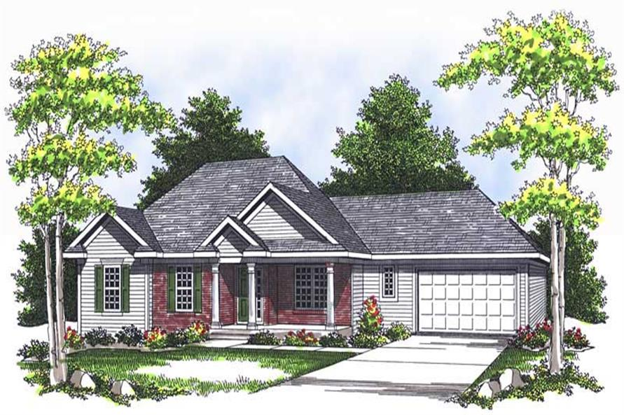 Main image for house plan # 13697