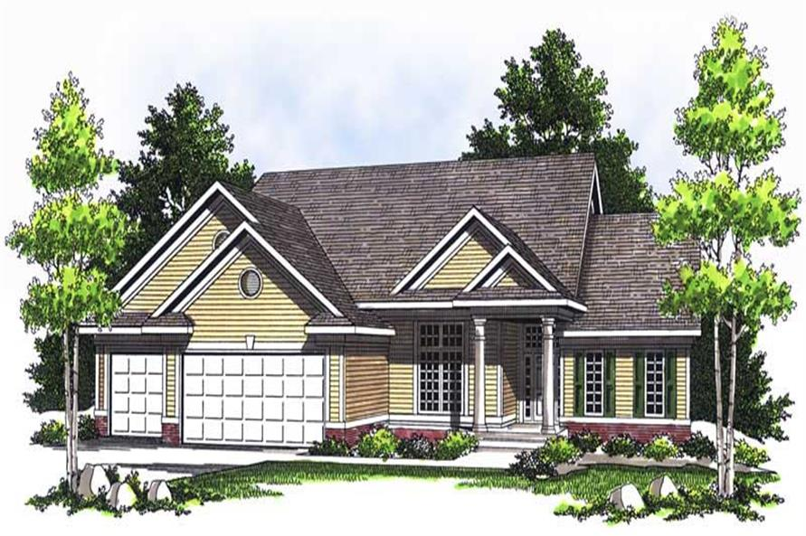 Main image for house plan # 13702