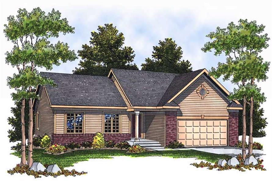 Main image for house plan # 13717