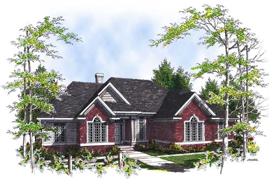 Main image for house plan # 13503