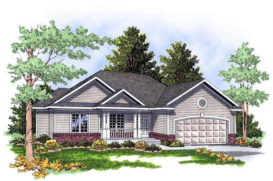Main image for house plan # 13518