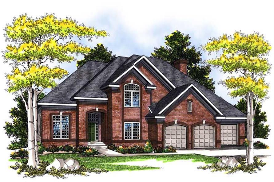 Main image for house plan # 13548