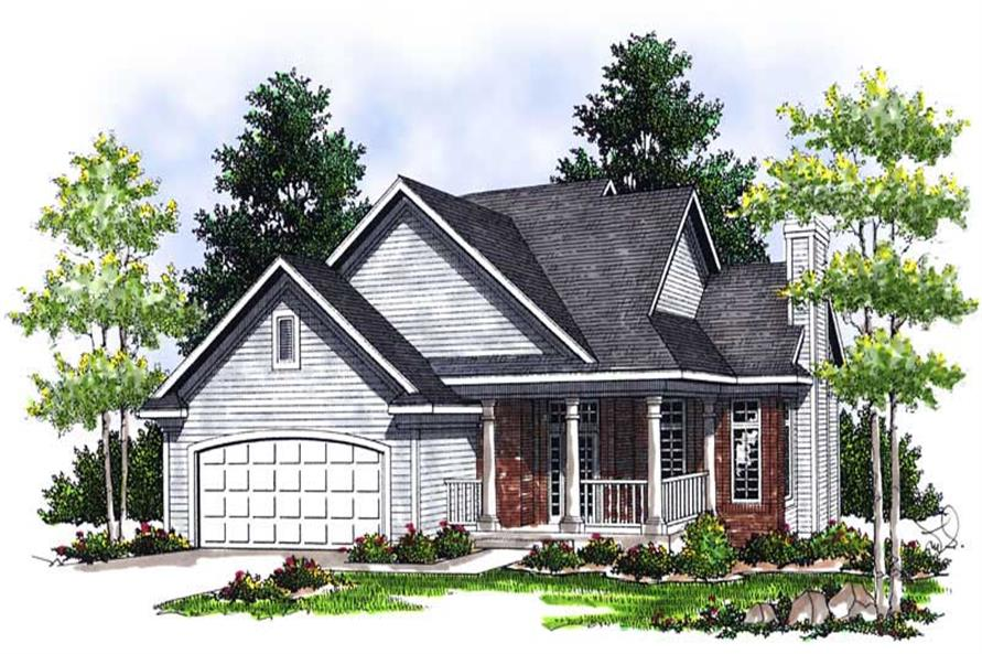 Main image for house plan # 13749