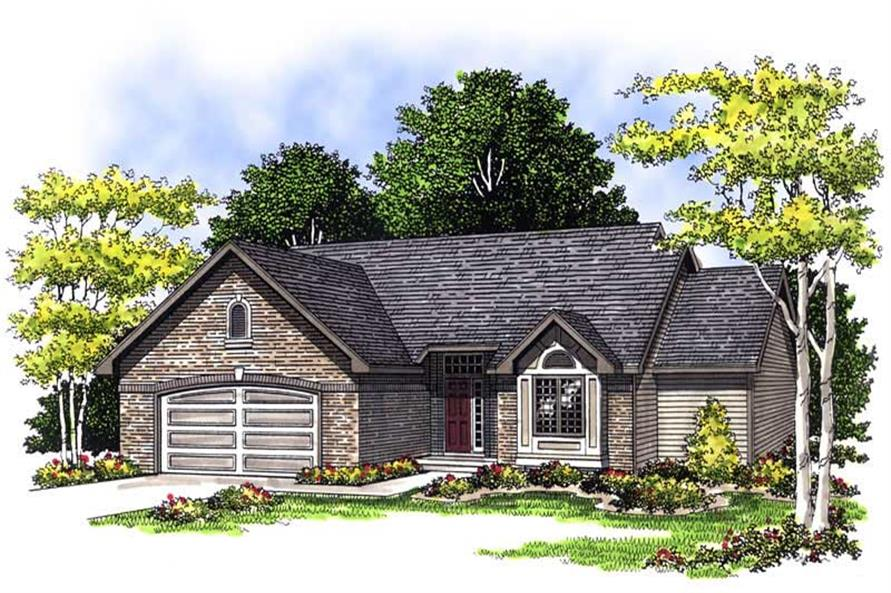 Main image for house plan # 13572