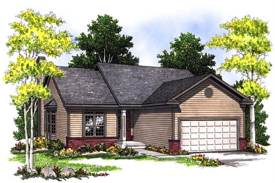 Main image for house plan # 13582