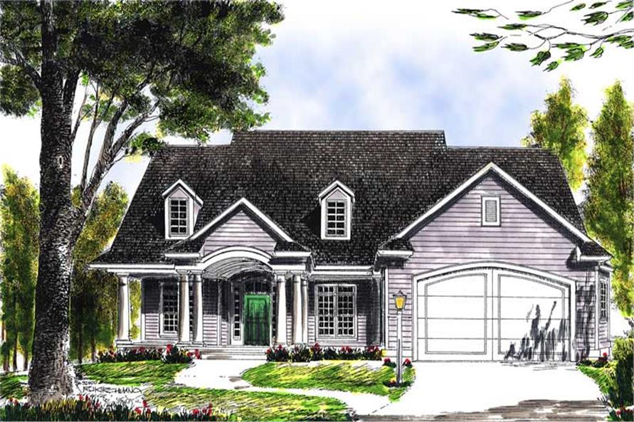 Main image for house plan # 13612