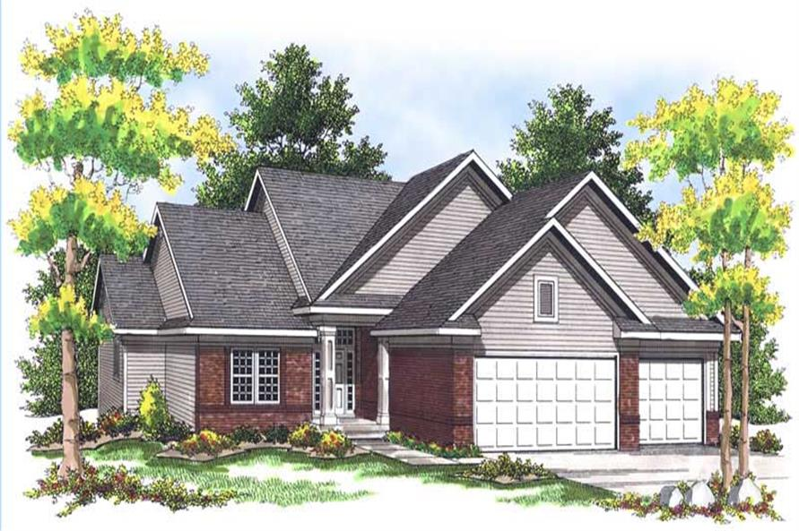 Main image for house plan # 13625