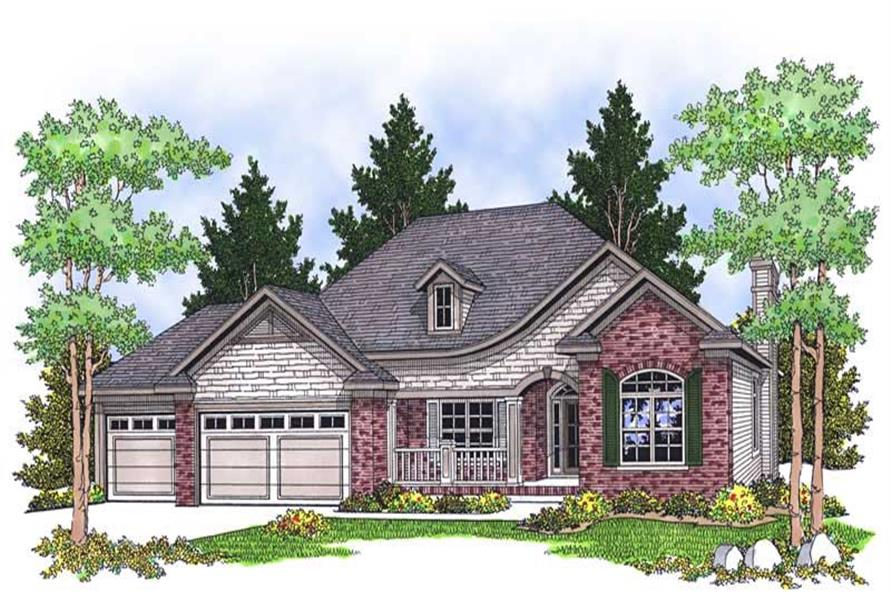Main image for house plan # 13885