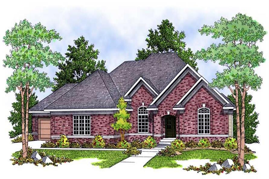 Main image for house plan # 13902