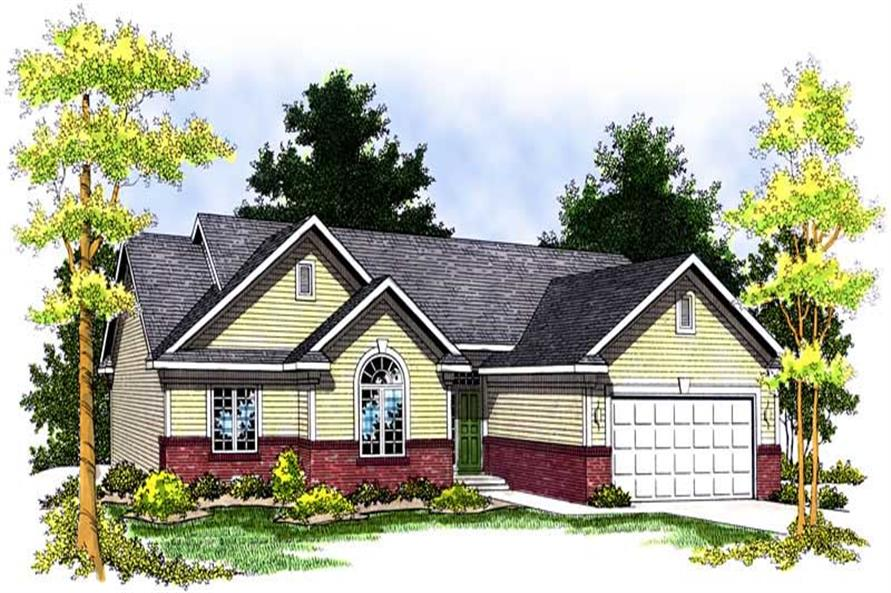 Main image for house plan # 13647