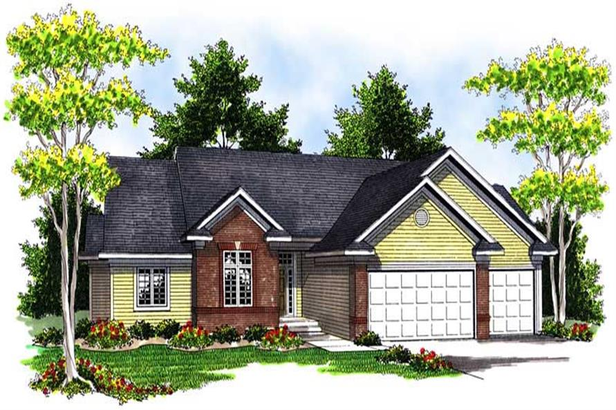 Main image for house plan # 13940