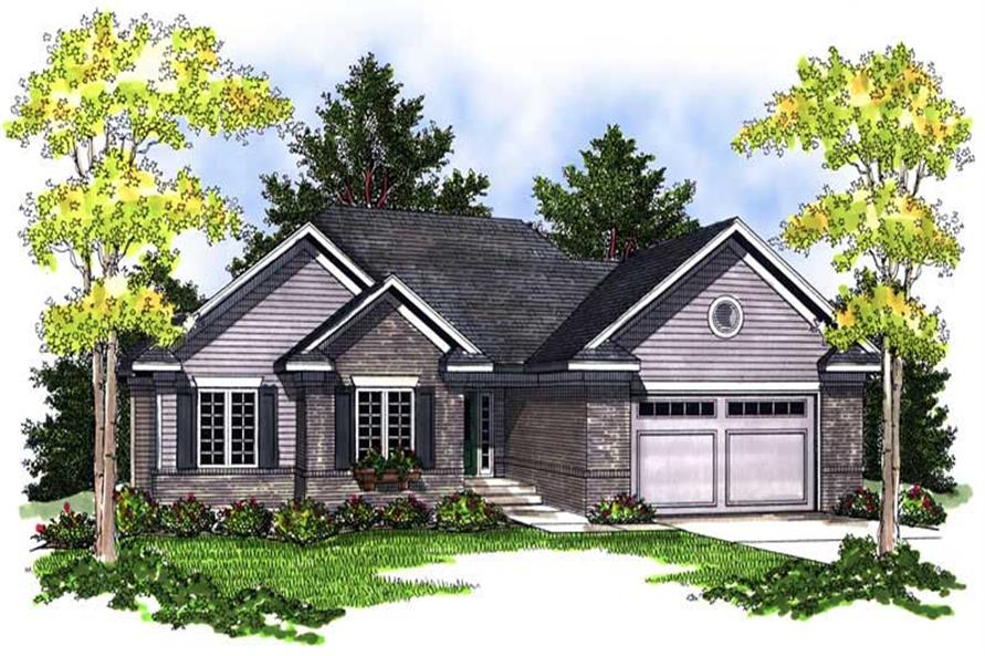 Main image for house plan # 13970