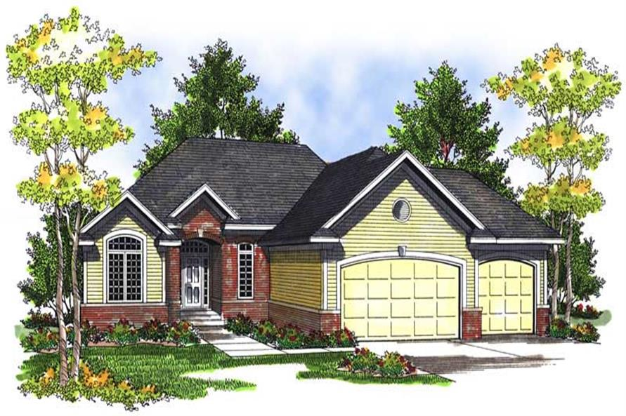 Main image for house plan # 13977