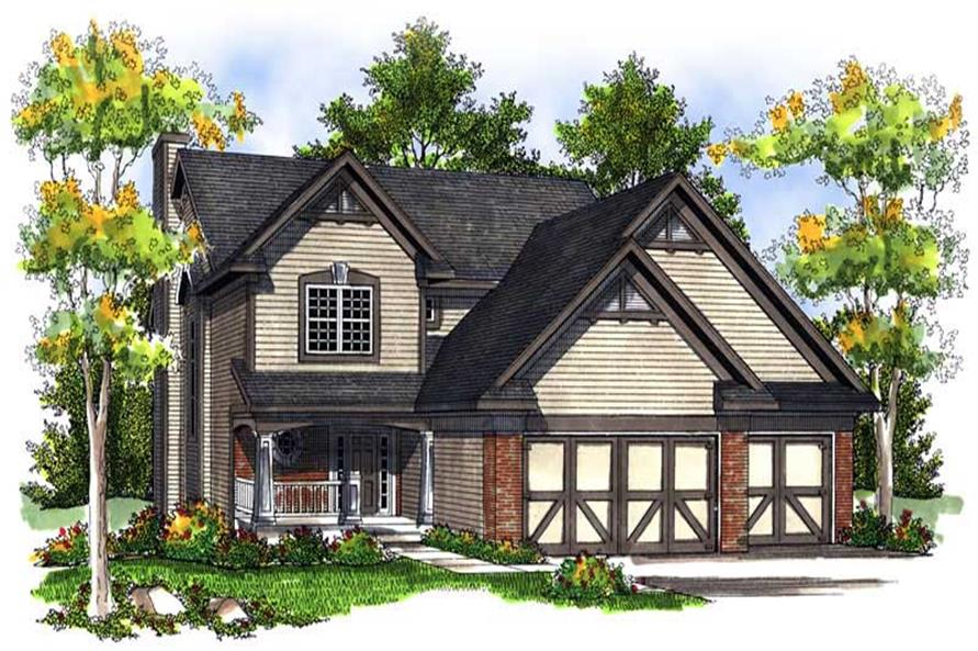 Main image for house plan # 13991