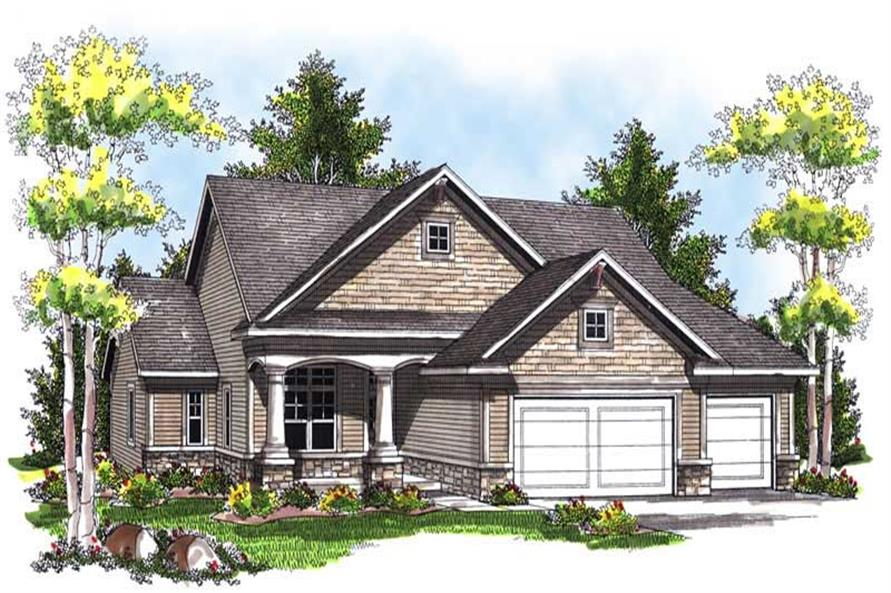 Main image for house plan # 13998