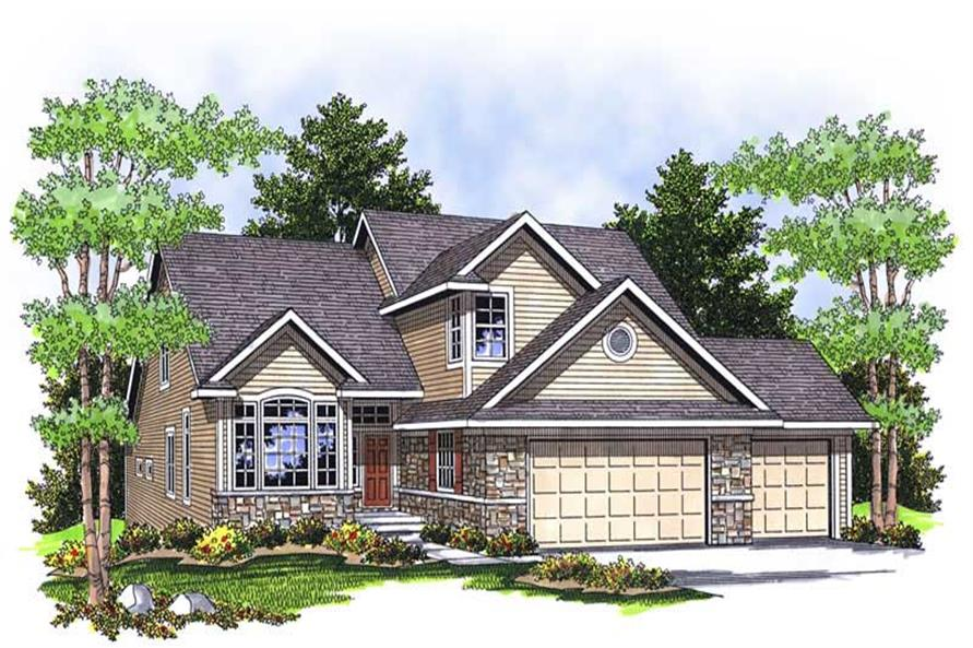 Main image for house plan # 13921