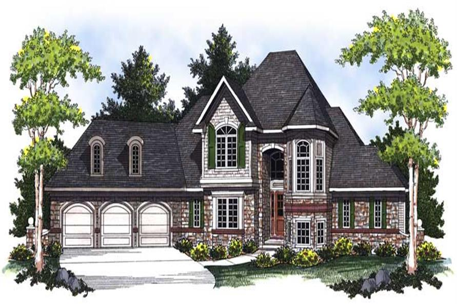 Main image for house plan # 14054