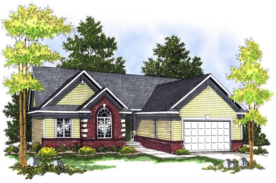 Main image for house plan # 13648