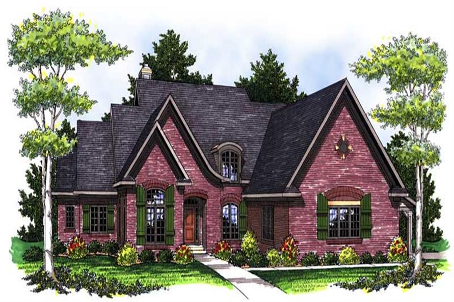 Main image for house plan # 14056