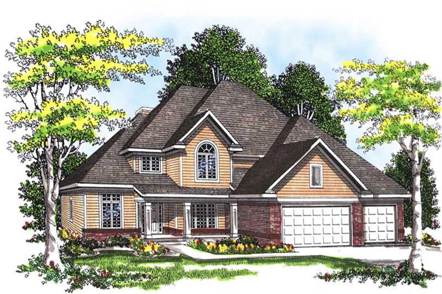 Main image for house plan # 13481