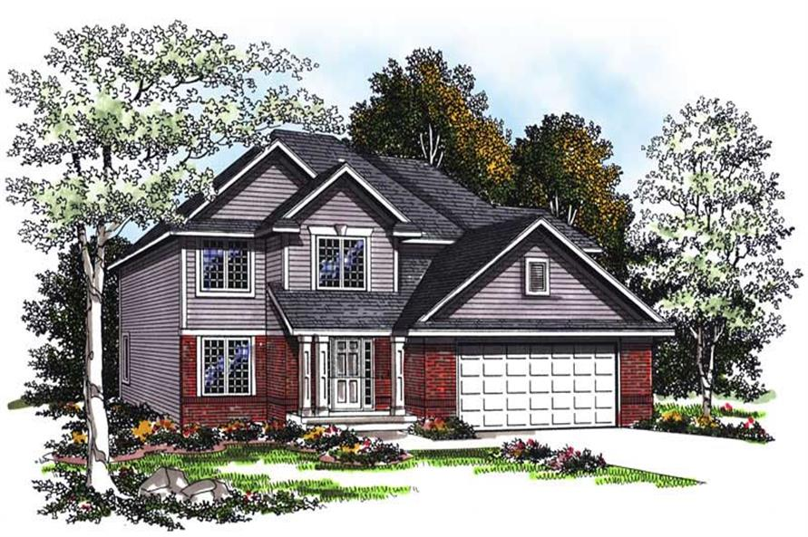 Main image for house plan # 13384
