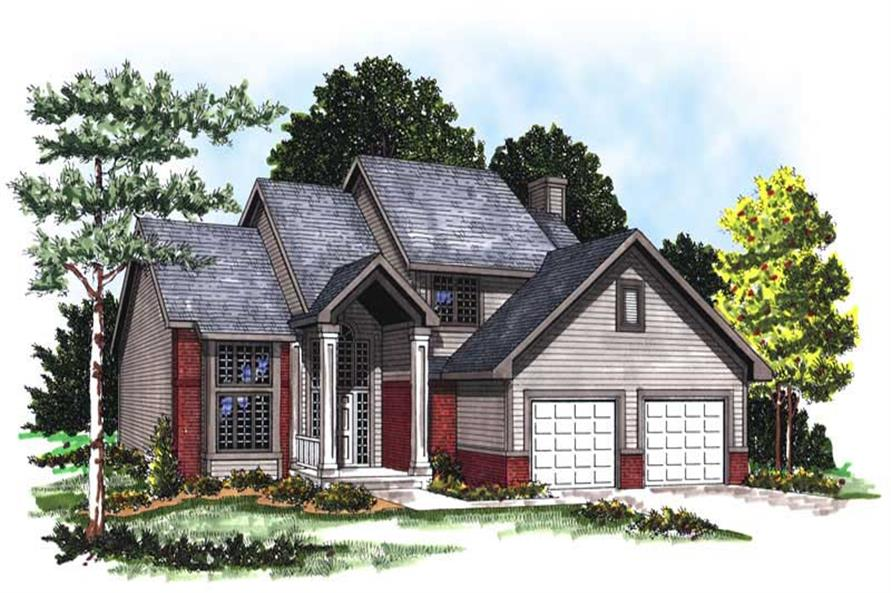 Main image for house plan # 13325