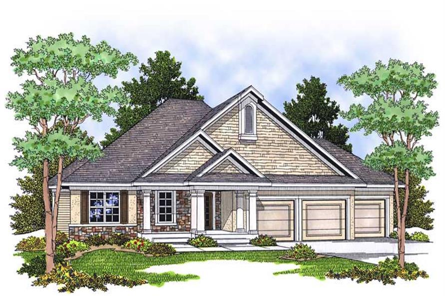 Main image for house plan # 13886