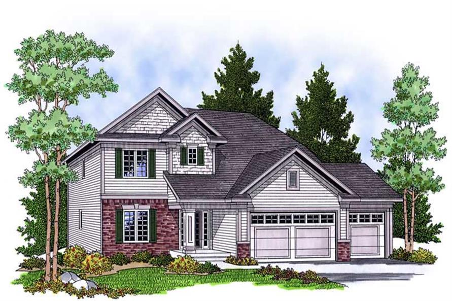Main image for house plan # 13887
