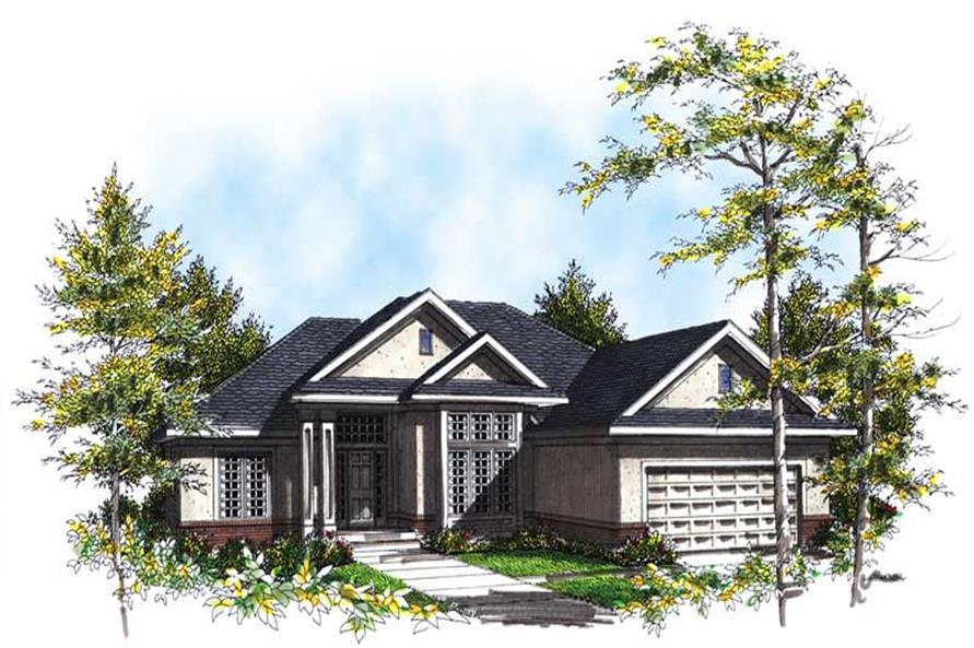 Main image for house plan # 13391