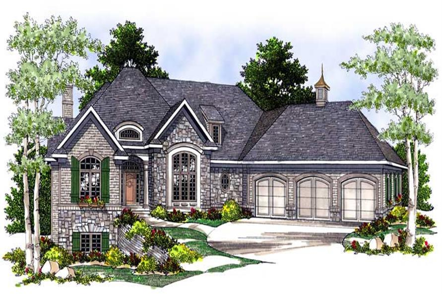 Main image for house plan # 13670