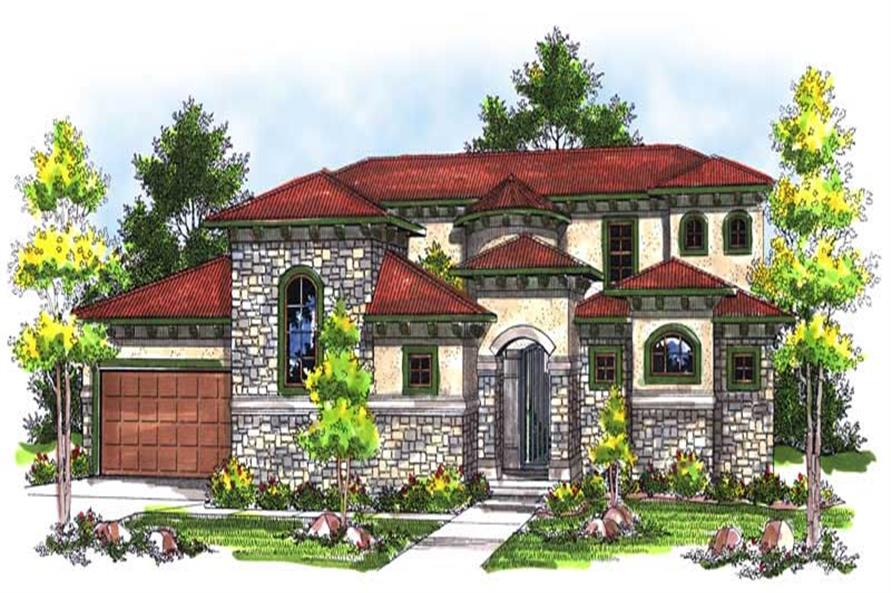 Main image for house plan # 14006