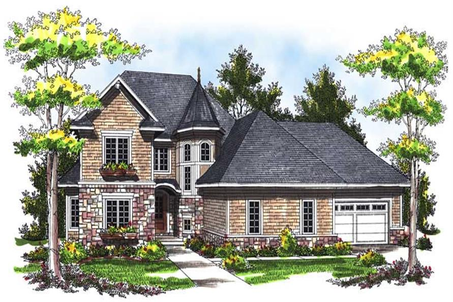 Main image for house plan # 14023