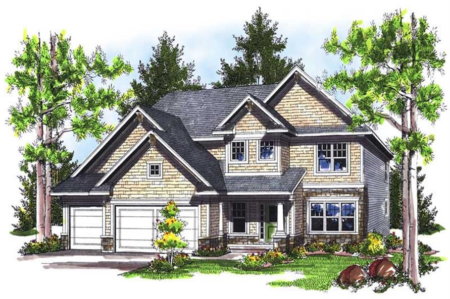 Main image for house plan # 14024