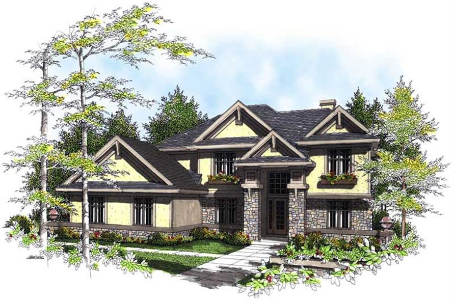 Main image for house plan # 13482
