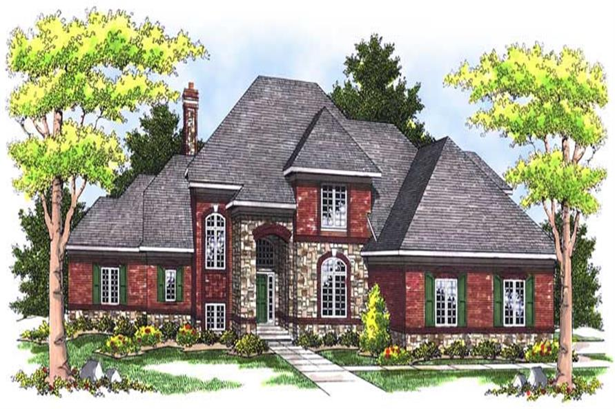 Main image for house plan # 13635