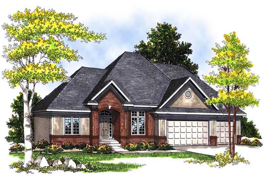 Main image for house plan # 13554